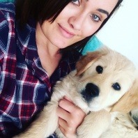 Vetvetwest-wanneroo-nurse-rachel-parsons-and-her-puppy-sonny