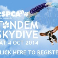 rspca-tandem-skydive-with-pets-poster